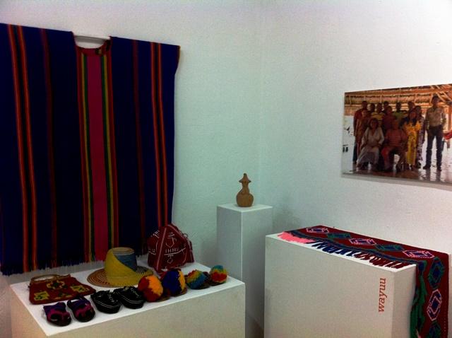 Objetos de la etnia Wayúu. Foto Marisela Valero