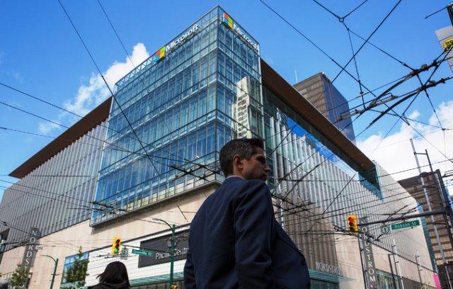 Oficinas de Microsoft en  Vancouver