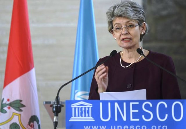 Directora General de la UNESCO, Irina Bokova