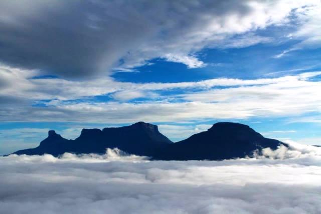 La Gran Sabana desde el aire, Uru, Tramen y Karaurín, Foto Arianna Arteaga