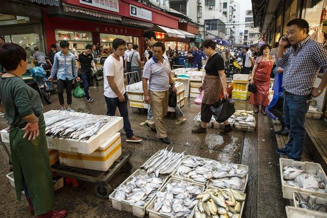 Mercado de Zhoushan