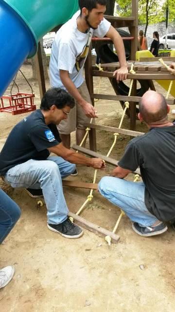 Federico Estaba, coordinador del Consejo Comunal, es un lider muy querido por su comunidad