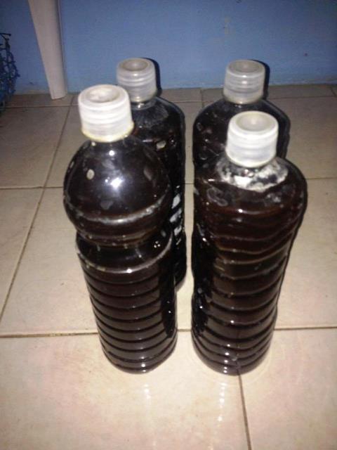 Abono orgánico líquido de vermicompost