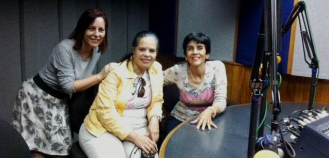De izquierda a derecha, Rosemary Hernández, Jacqueline Hernández y Marisela Valero. Foto Fernando Camacho