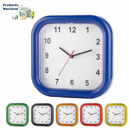 Reloj Mondrian Cuadrado