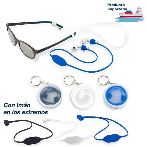 Accesorio en Silicona Para Gafas y Audífonos