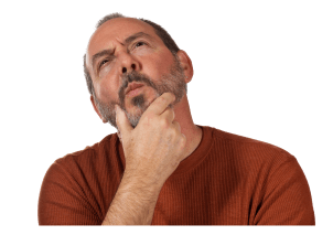 Puzzled man wondering why truss plants cut 33% extra parts per day.