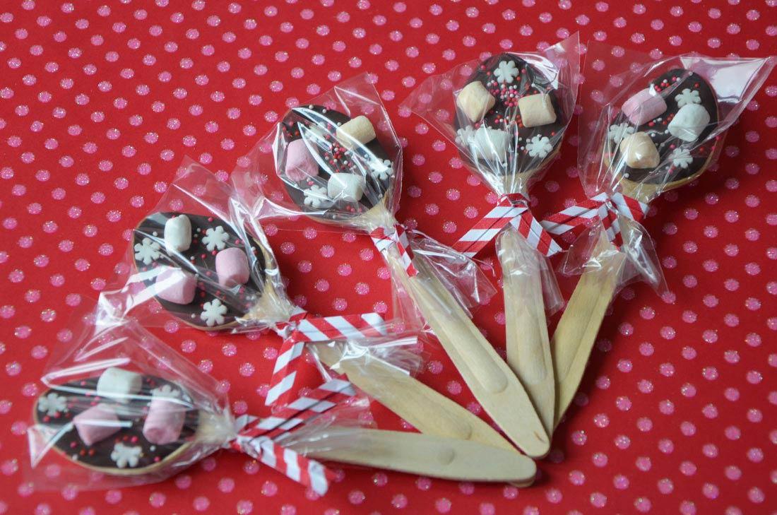 Cadeaux Gourmands Cuillres Pour Chocolat Chaud
