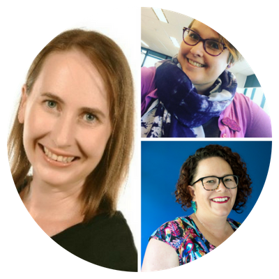 Podcast Episode 19: Clare Thorpe interviews Sally & Amy about resilience, values, theme songs and perfectionism