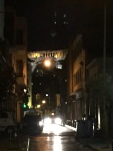 Mit einem Taxi durch Athen