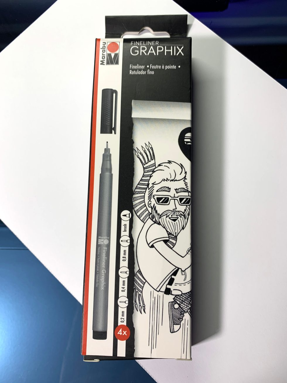 Marabu Fineliner Graphix Pens image 1