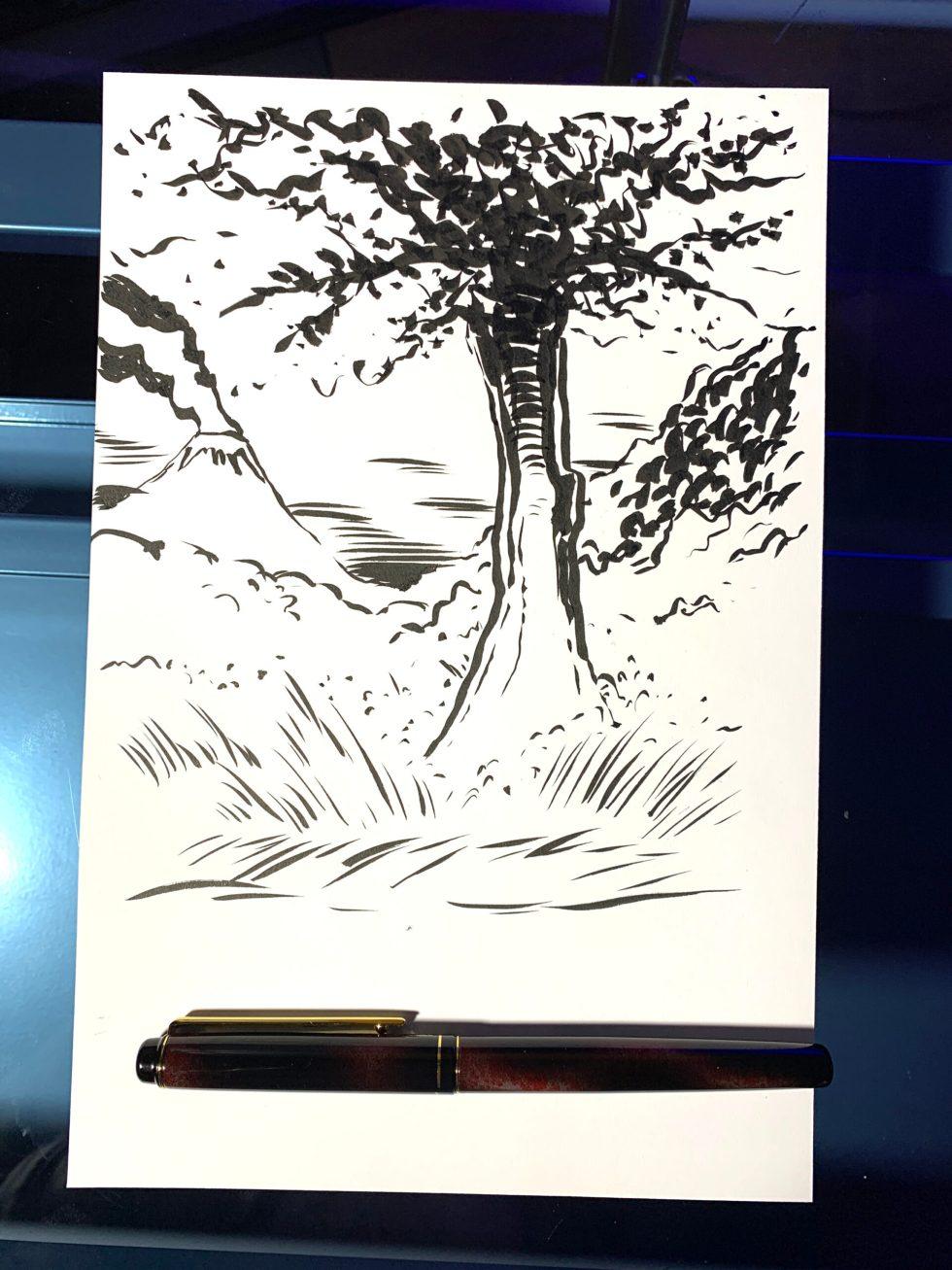 Kuretake No. 50 Fountain Brush image 1