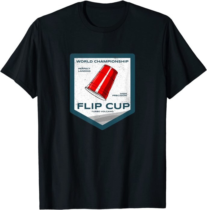 Retro Flip Cup World Championship T-Shirt