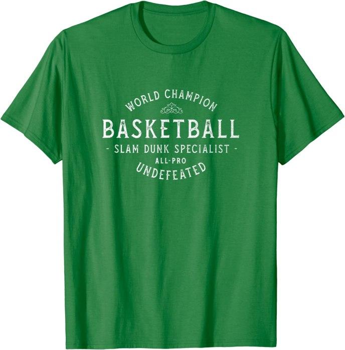 Retro World Champion Basketball Slam Dunk Specialist All-Pro T-Shirt