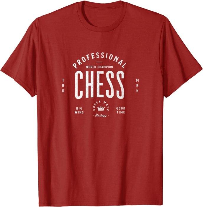 Retro World Champion Professional Chess T-Shirt