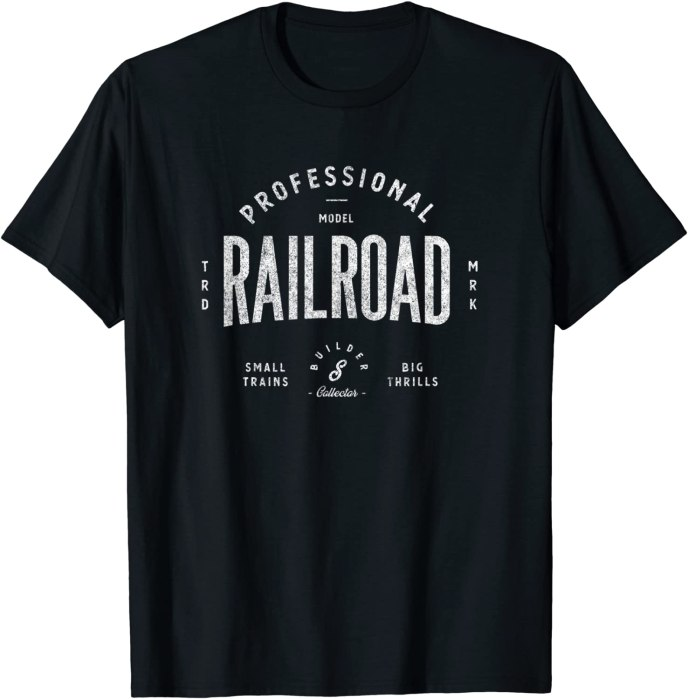 Retro Model Railroad Builder and Collector Vintage T-Shirt