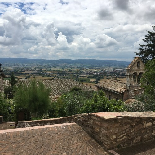 View from Assissi