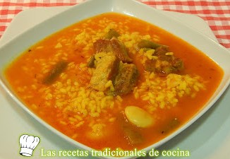 arroz caldoso con costillas