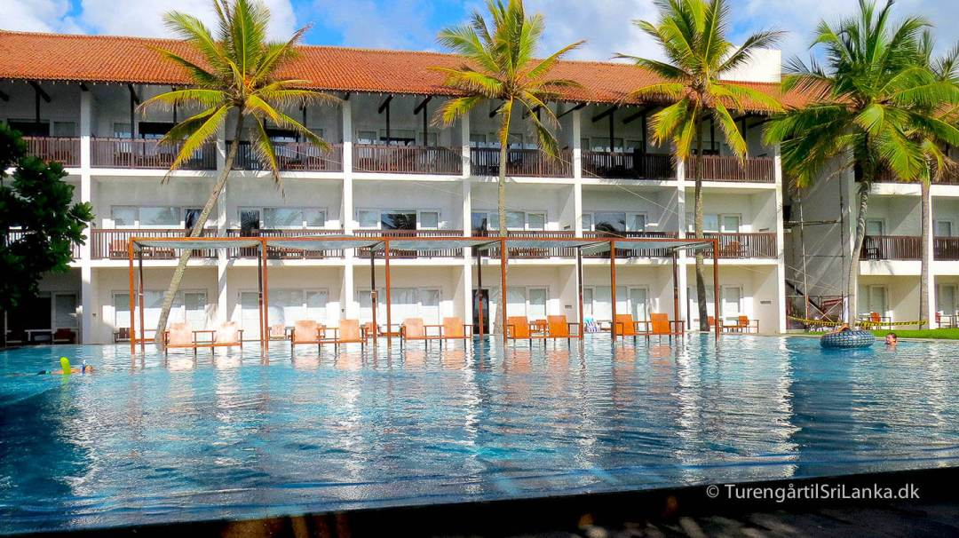 Jetwing Blue er et dejligt luksushotel, der ligger lige ud til stranden i Negombo