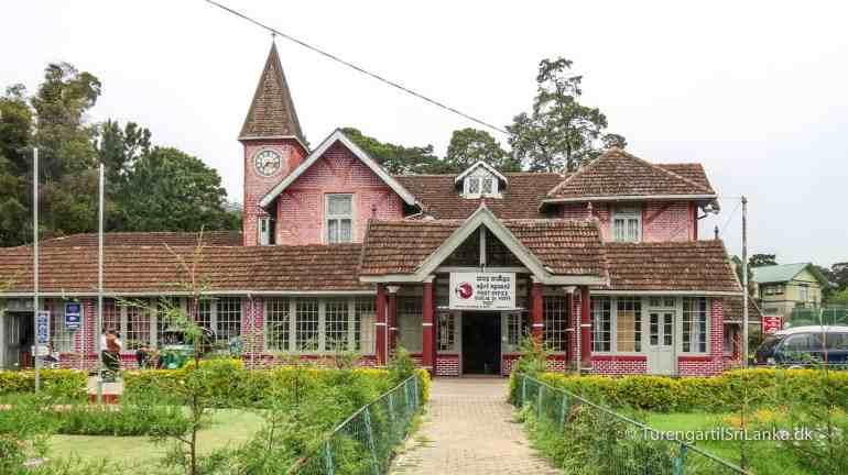 Posthuset i Nuwara Eliya er bygget i traditionel engelsk stil