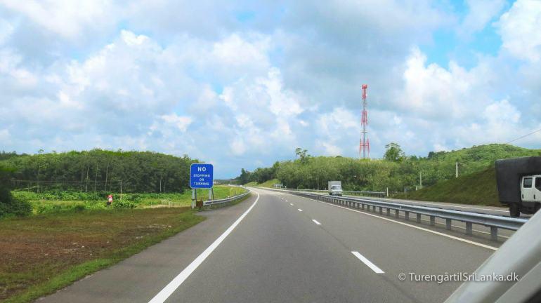 The Southern Expressway Sri Lanka