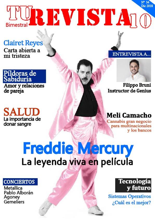 """FREDDIE MERCURY la leyenda viva en """"Bohemia Rhapsody""""."""