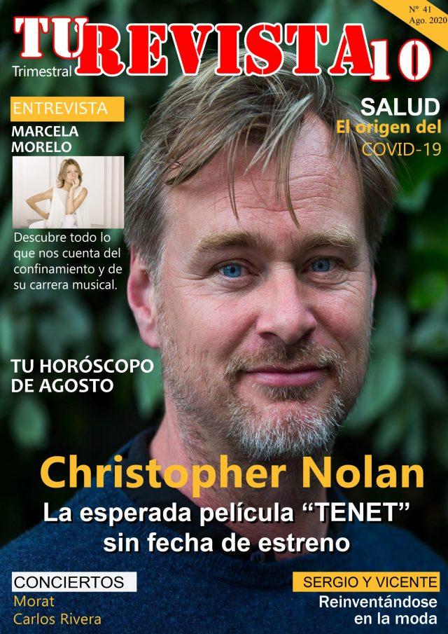 """Christopher Nolan y la esperada película """"TENET"""""""