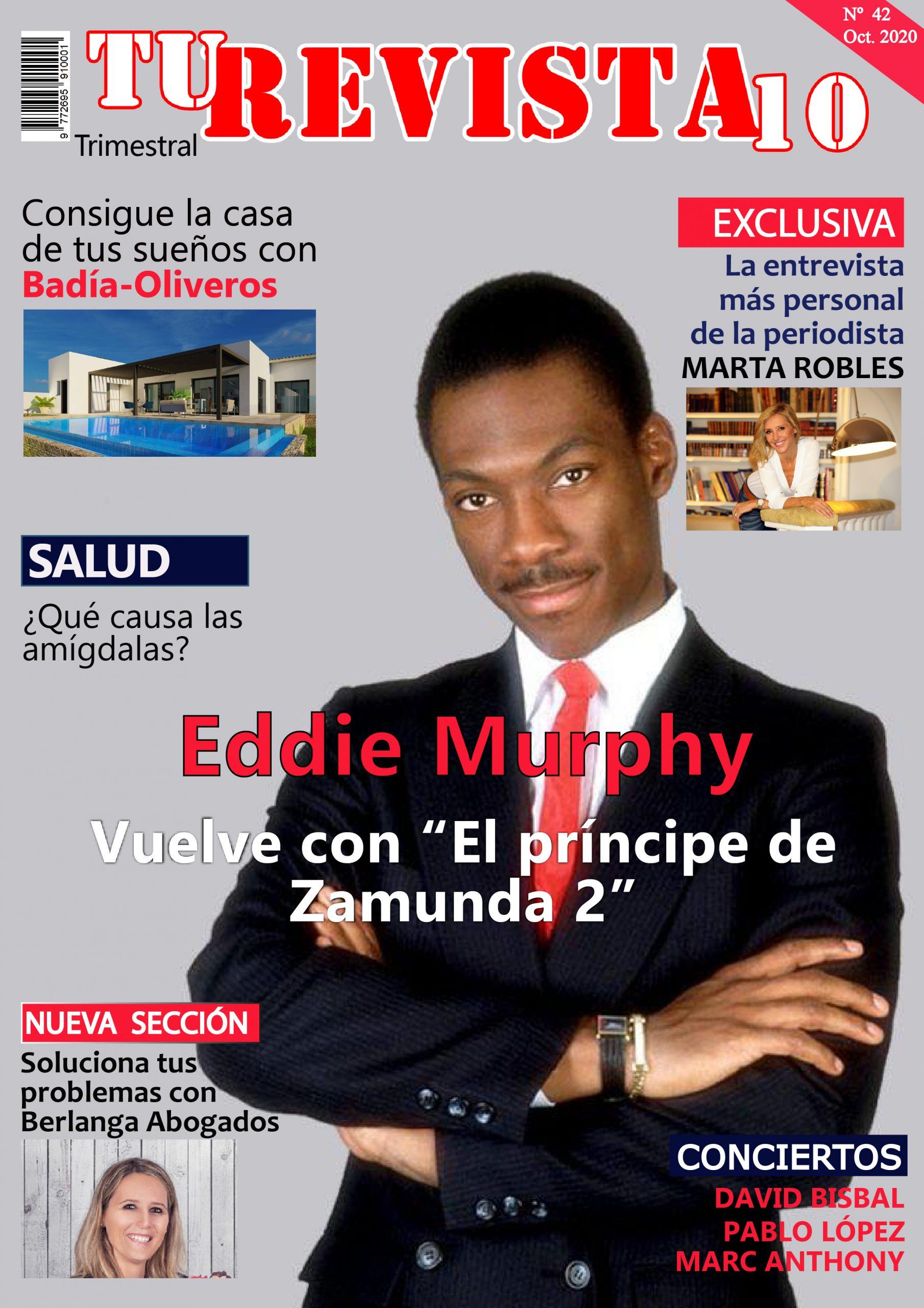 """EDDIE MURPHY vuelve con """"El príncipe de Zamunda2"""""""