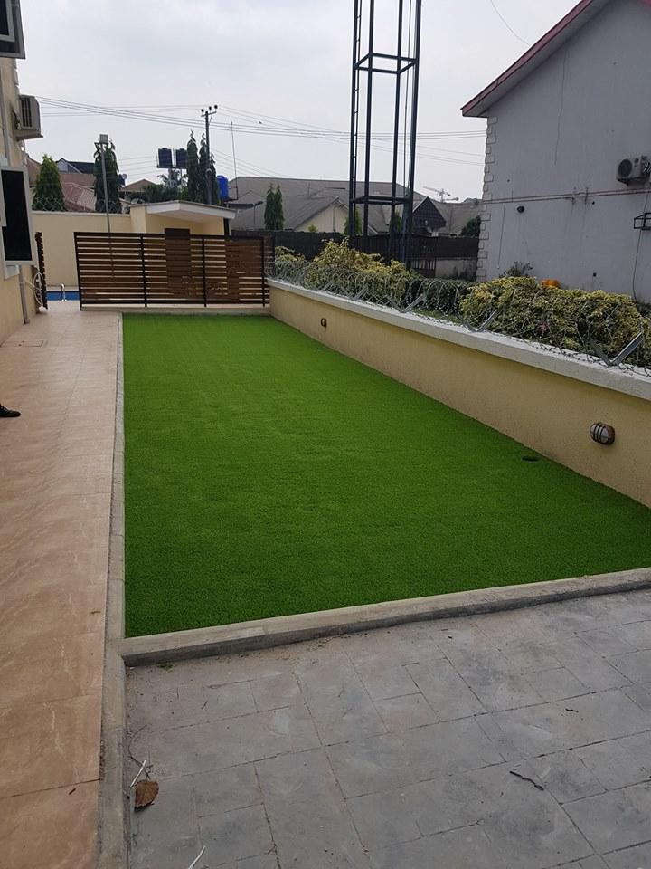 Kids Playground @ Trans-Amadi Gardens PHC - After Installation