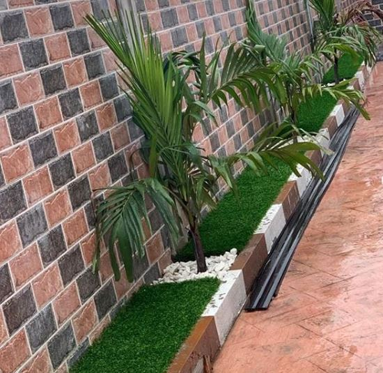 Private residence flower area