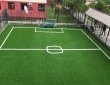 Dayspring Int'l School Phc 2nd Football pitch - Installation completed with white lines