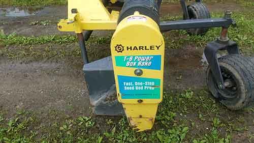 Harley rake