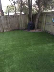 Backyard install South Tampa