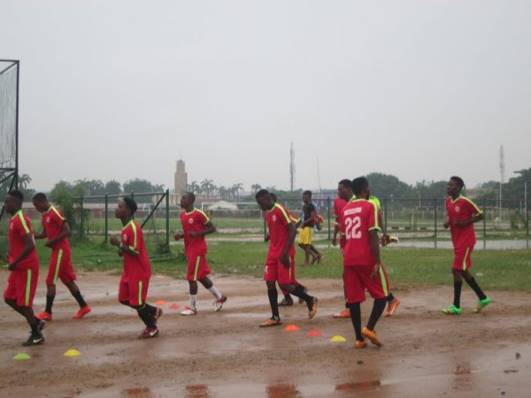 G innovate FC warming up - Matchday 8 - July 1, 2018
