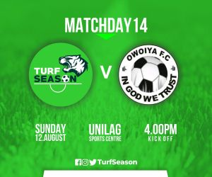 TURF DAY - owoiya - aug 12