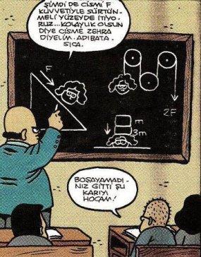 Ders ve hayat birleşimi:)