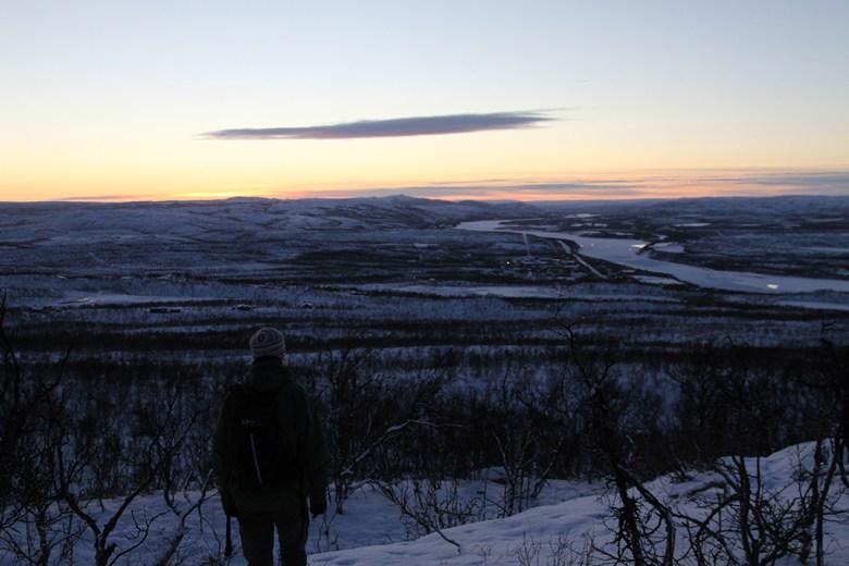 Utsikt over Skiippagurra i Tana