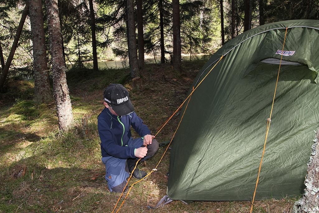 Endelig langhelg i telt turgutta.no