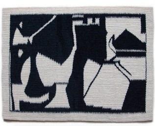 "Wool Tapestry. 12""x17"""