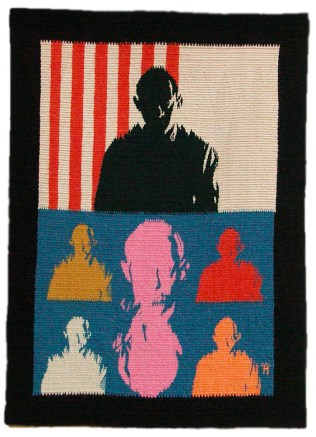 "Wool Tapestry, 22""x16"""