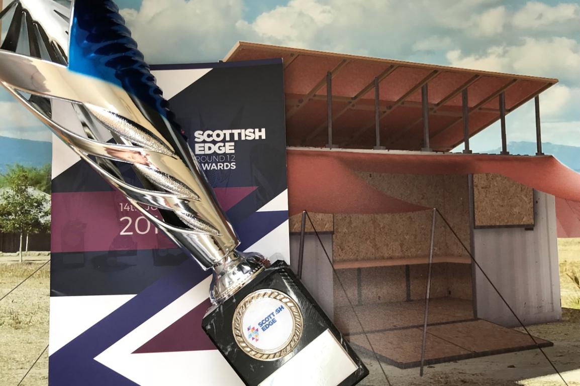 Scottish Edge win for the Turing Trust!