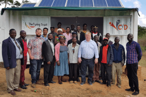 SolarBerry handover to the local community in Choma, Malawi