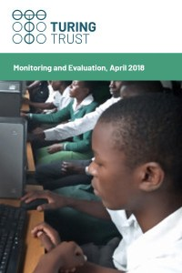 Cover of Monitoring and Evaluation report 2018