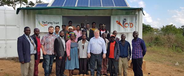 SolarBerry handover to Choma community, Malawi