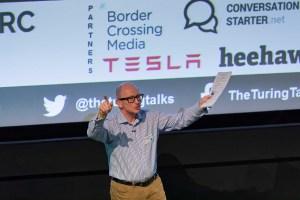 Bernie Hollywood opening Turing Talks