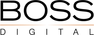 Boss digital logo