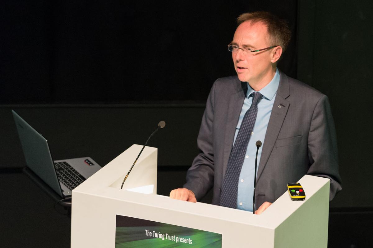 Guest Blog: Dr Alastair Allan MSP's Turing Talk