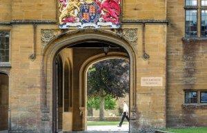 Sherborne School - main entrance