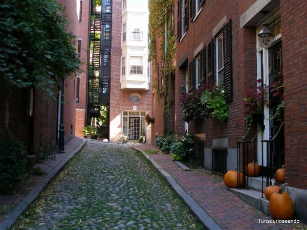BOSTON: THE FREEDOM TRAIL O SENDERO DE LA LIBERTAD