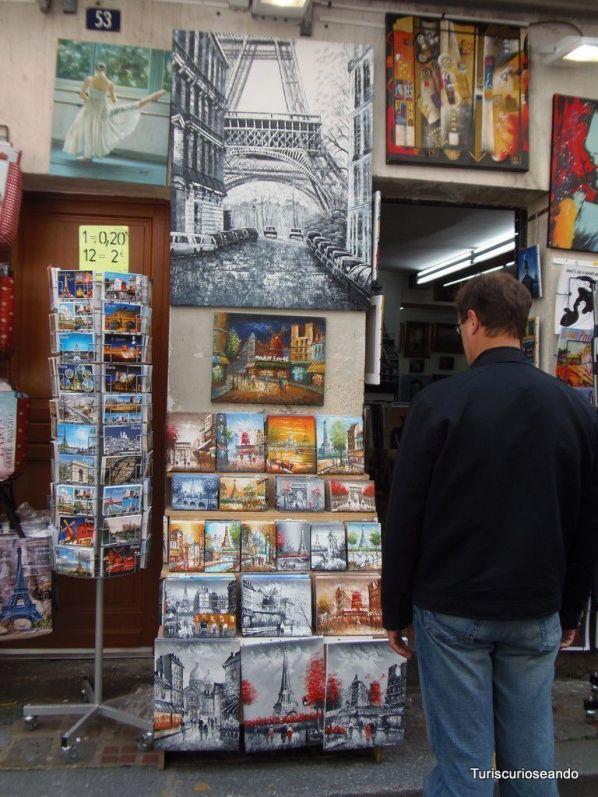 MONTMARTRE: EL MEJOR LUGAR DE PARÍS PARA COMPRAR SOUVENIRS